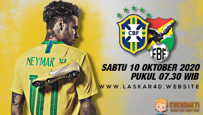 Prediksi Bola Brazil vs Bolivia Sabtu 10 Oktober 2020