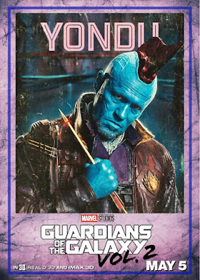 Yondu Guardians of the Galaxy Vol 2 character poster