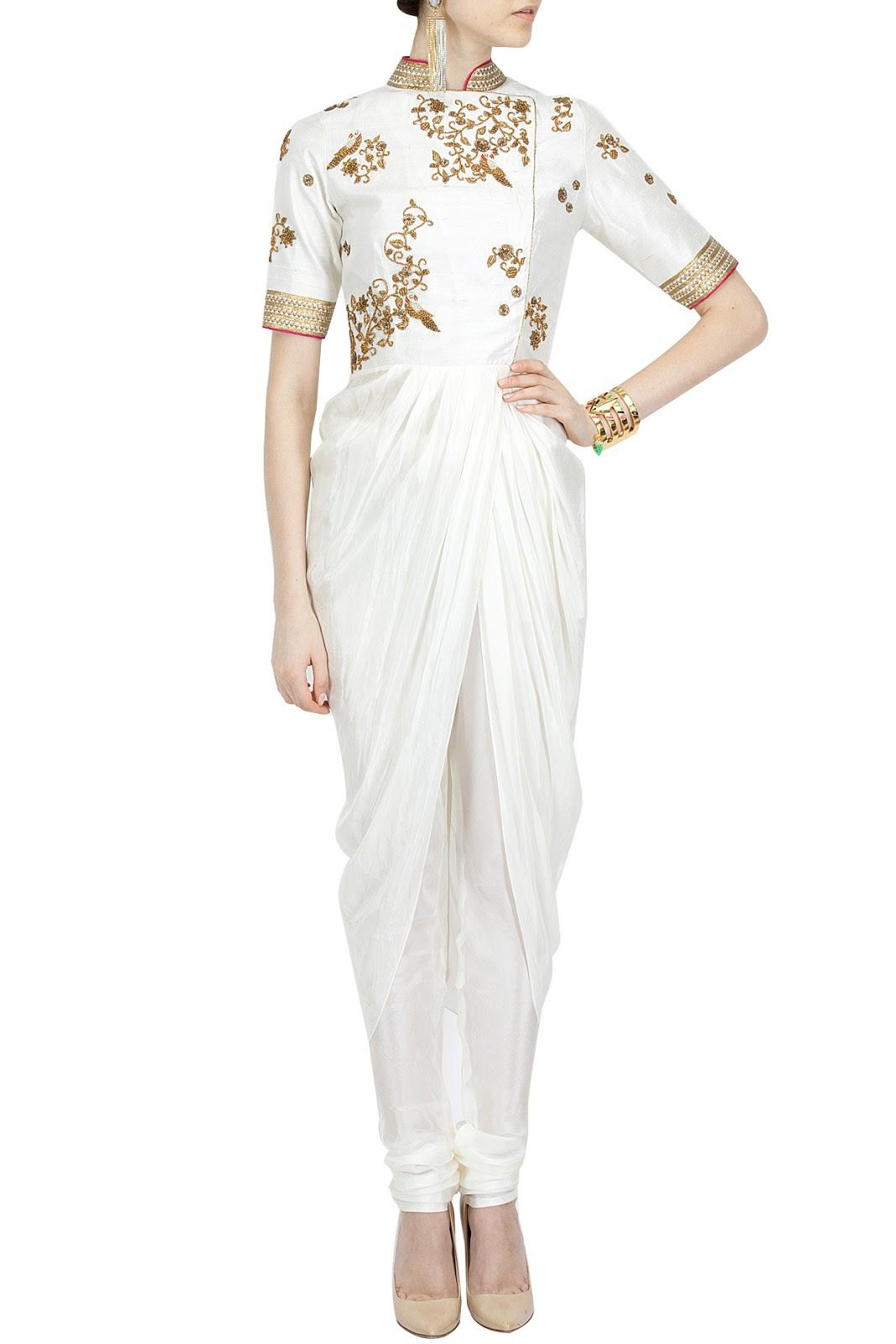 Tisha Saksena's Indo Western Dresses
