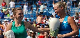 TENIS (Masters 1000 Cincinnati femenino 2018) - Kiki Bertens sorprendió a la número 1 Simona Halep