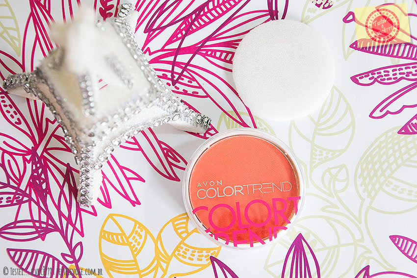 """Blush (Laranja Radiante) Color Trend """"Por um Verão mais Colorido"""" – Avon"""
