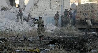"""الجيش الوطني الليبي ، خليفة حفتر، أحمد المسماري، أبو معاذ العراقي، زعيم """"داعش""""، سبوتنيك، حربوشة نيوز"""