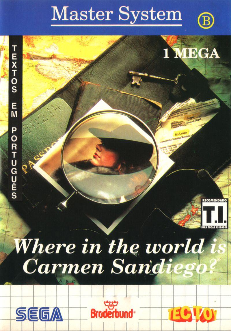 Where in the World is Carmen Sandiego? (Brasil)