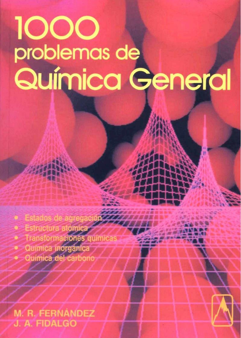1000 Problemas de química general – M. R. Fernandez