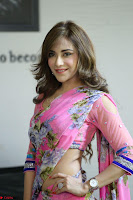 Actress Angela Krislinzki in Pink Saree Blouse Exclusive Pics March 2017 ~  119.JPG