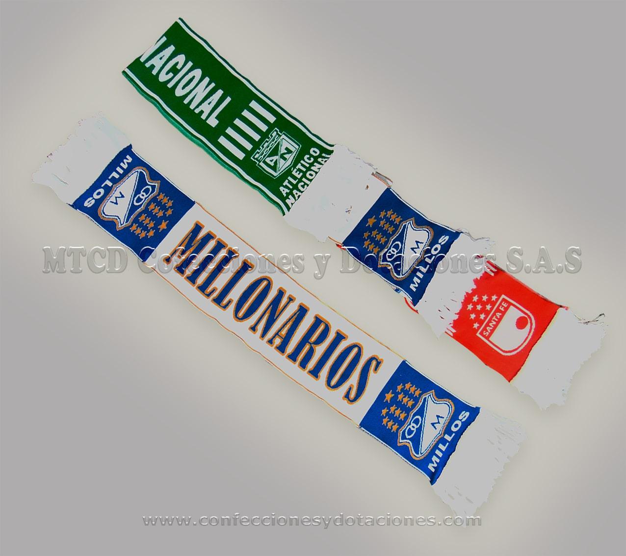 Bufandas promocionales o publicitarias fabrica
