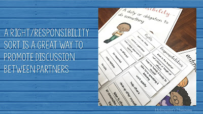 rights and responsibilities sort