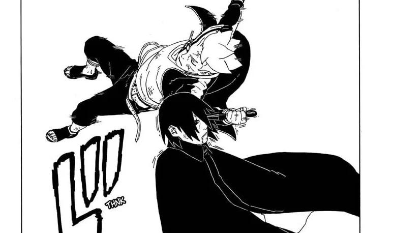 Boruto Menusuk Mata Sasuke - Boruto Chapter 53
