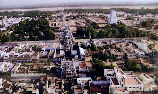 Image contains Srirangam temple