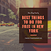Best things to do for free in New York