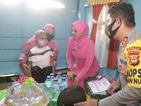 Irjen Merdisyam dan Ibu Kunjungi Bocah Pengidap Kanker Di Wajo dalam Rangka Baksos