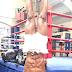 Anthony Joshua's Stunt During Training [Pic]
