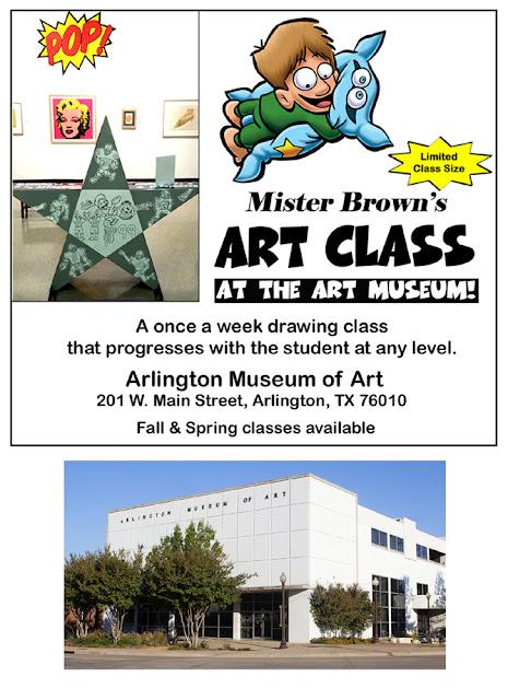 Mister Browns Art Class