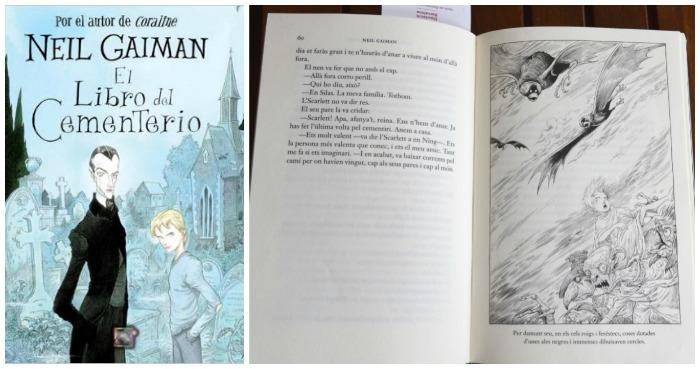 libro juvenil: el libro del cementerio, neil gaiman
