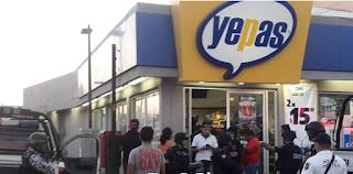 """Caen dos asaltantes de """"Yepas"""" en infonavit Los Volcanes"""