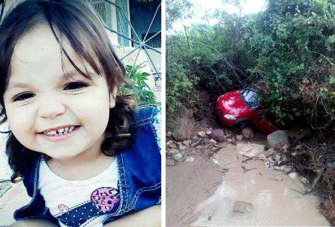 TRAGÉDIA : Criança de 4 anos morre após ser arrastada por correnteza no interior do CE