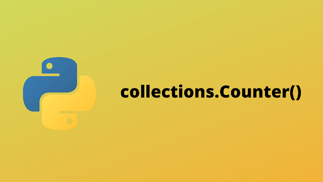 HackerRank collections.Counter() solution in Python
