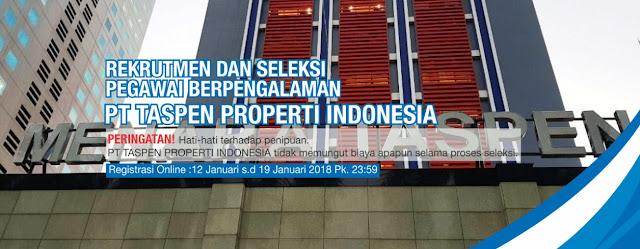 Lowongan Kerja di PT TASPEN PROPERTI INDONESIA