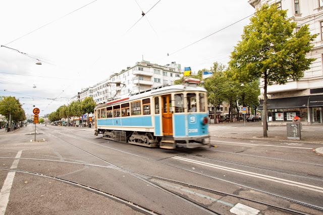 Goteborg centro-Tram storico