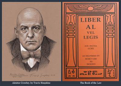 Aleister Crowley. Hermetic Order of the Golden Dawn. OTO. The Book of the Law. Thelema. by Travis Simpkins