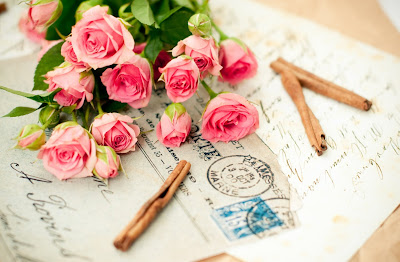 Letter to the Mom with a flower bouquet for mother's day gift