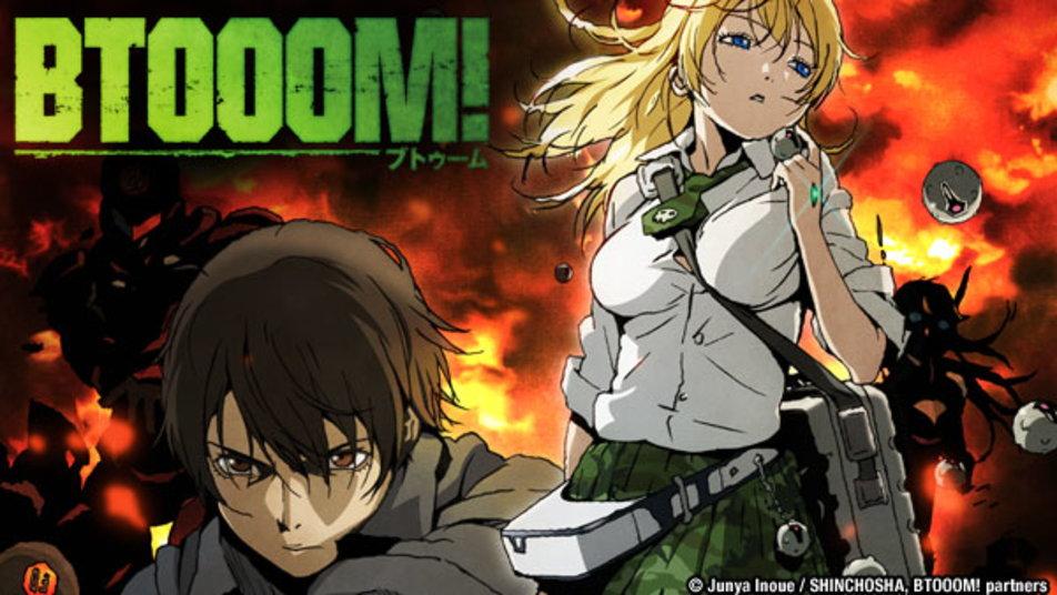 Btooom Di Rekomendasi Anime Action