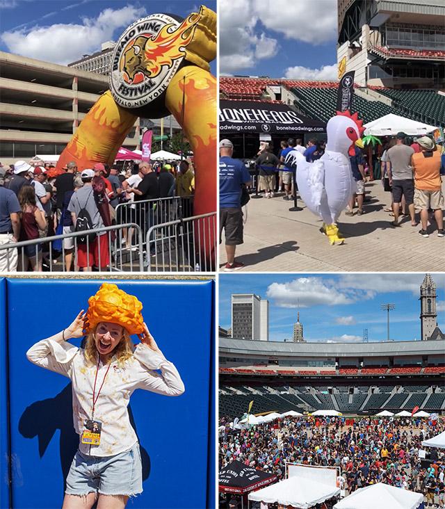 National Buffalo Wings Festival in Buffalo, New York