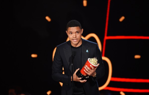 Trevor Noah Wins Two Awards Host Of The Daily Show Over The Weekend.
