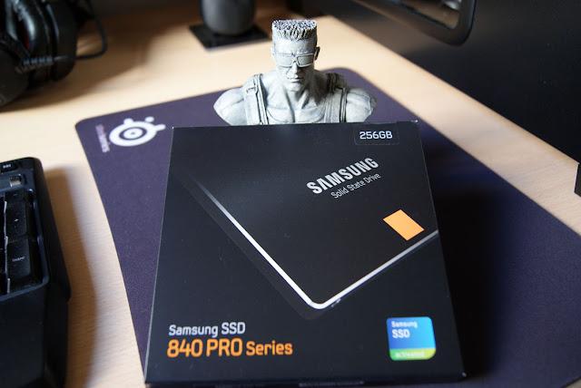 Caja del SSD Samsung 840 Pro 256GB