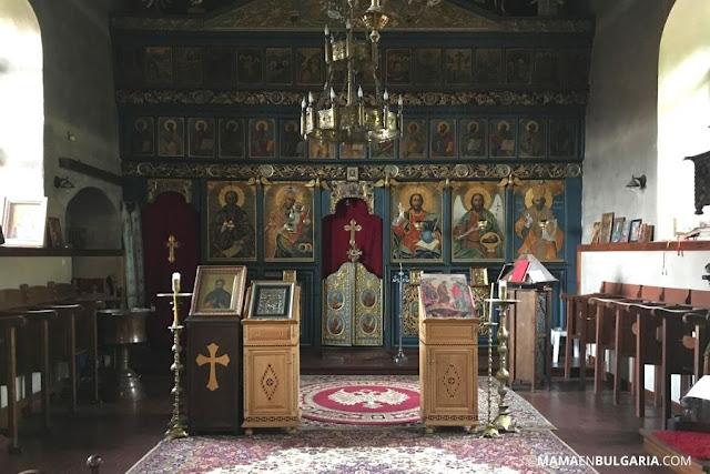 """Monasterio de German """"San Juan de Rila"""" iconostasio"""