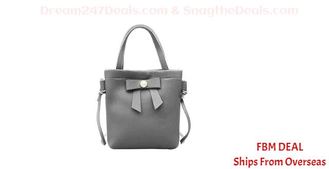 70% OFF  Bowknot Cute Mini Handbag