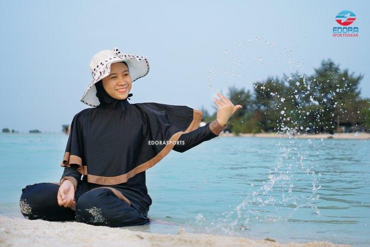 6 Tips Membeli Baju Renang Muslimah Online