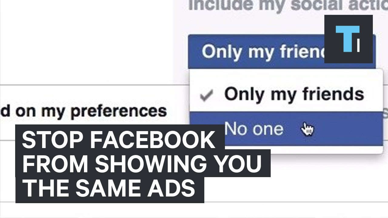 Stop Facebook from showing you the same ads [video]