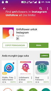 Cara Mengetahui Unfollowers Instagram Lewat Android