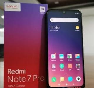 Pengaturan Kamera Xiaomi Redmi Note 7