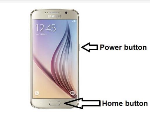 Cara Screenshot Samsung Galaxy S6:  2
