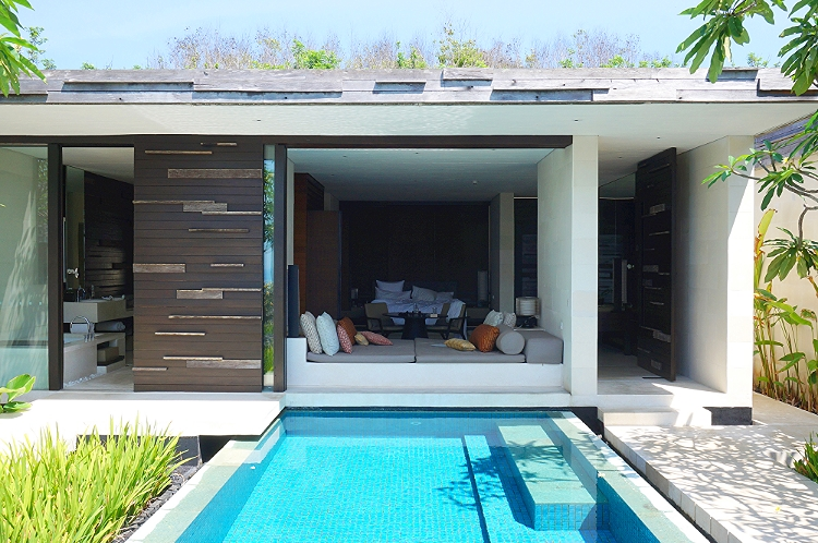Euriental | fashion & luxury travel | Alila Villas Uluwatu, inside the villa - pool area