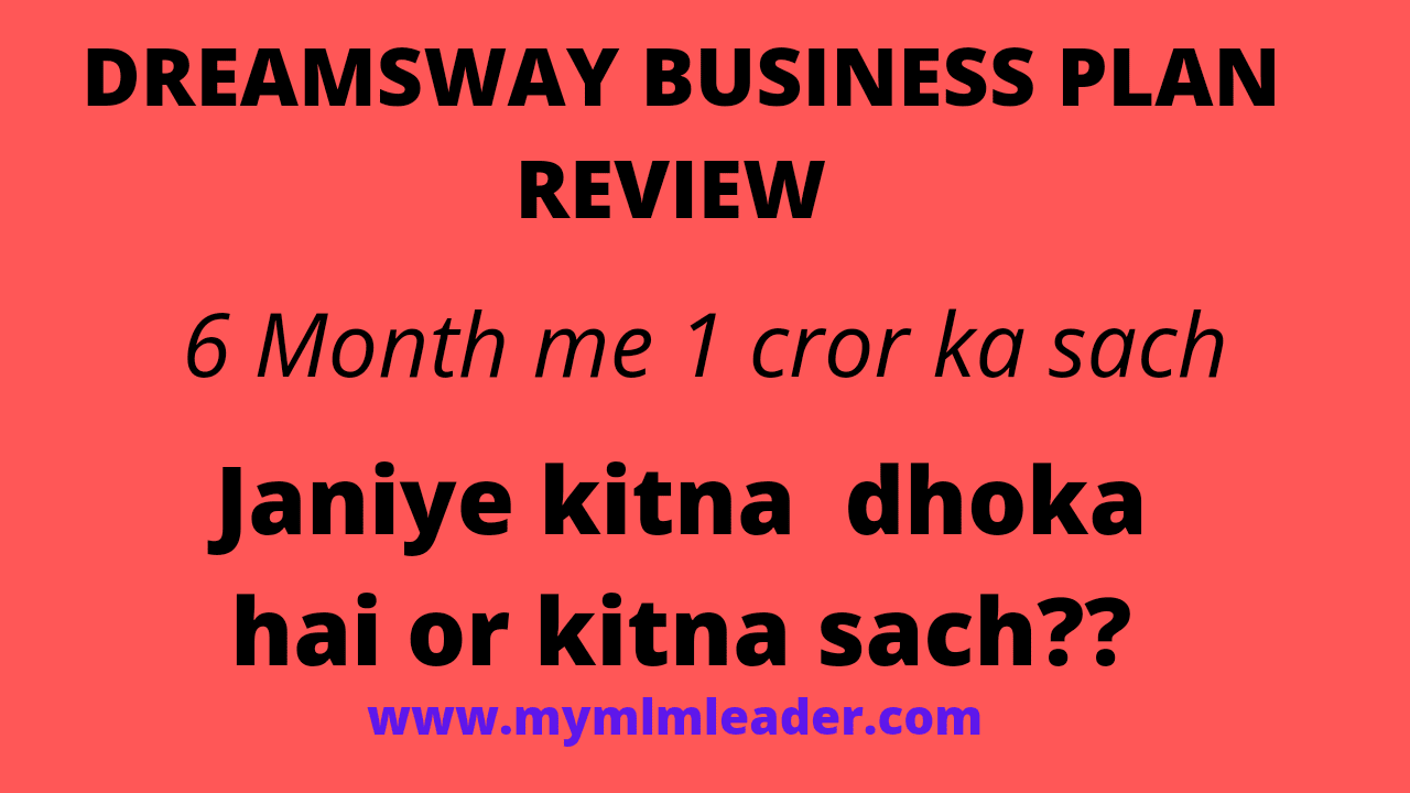 DREAMSWAY BUSINESS PLAN Review