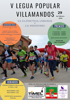 Carrera Popular Villamandos 2020