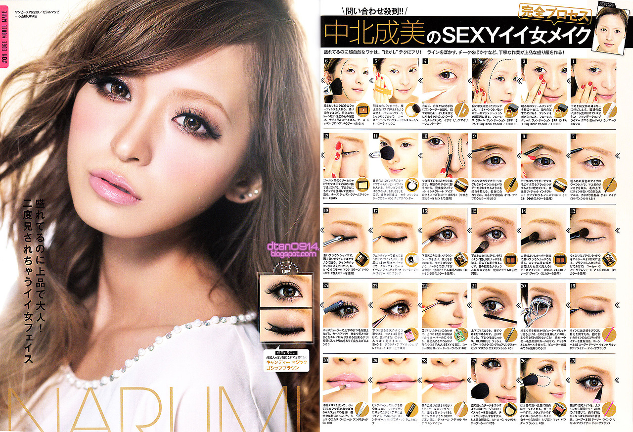 easy gyaru makeup tutorial, gyaru, gyaru blog