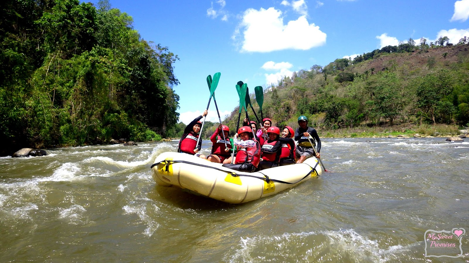 Conquering The CDOs Whitewater Rafting