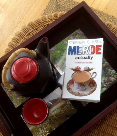 taking tea with Stephen Clarke, and his book Merde Actually