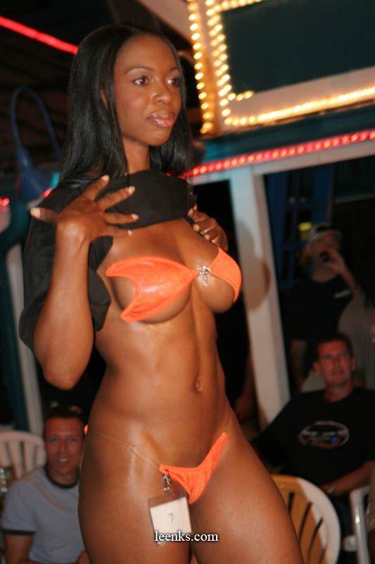 girls Micro bikini contest