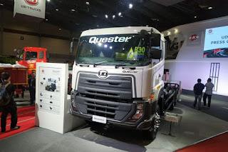 UD Trucks Pamerkan New Quester Dan Kuzer B30 Bio Diesel Ready Di Pameran Gaikindo 2020