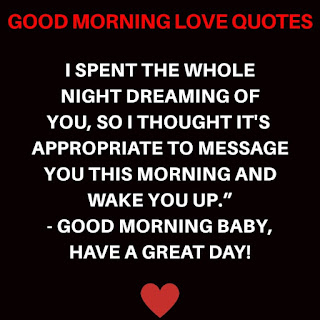 Good Morning Love, Good Morning for Love, Love Good Morning, Good Morning Facebook Status