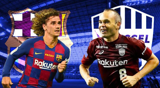 مباراة برشلونة ضد فيسيل كوبي كاس راكوتن