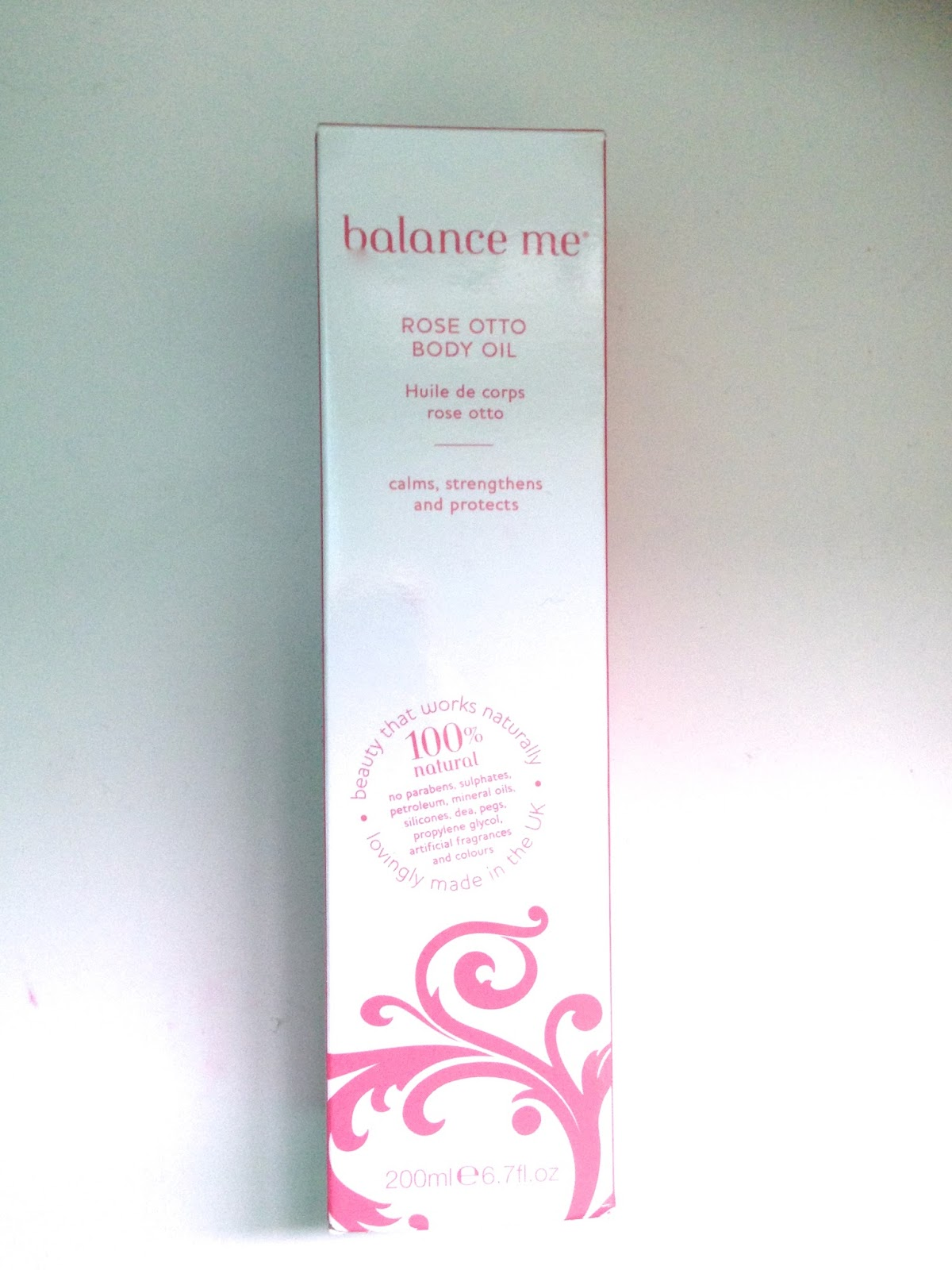 Balance Me Rose Otto Body Oil - #balancemehome