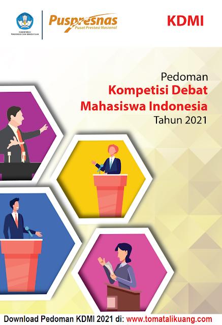 pedoman kompetisi debat mahasiswa indonesia kdmi tahun 2021 pdf tomatalikuang.com