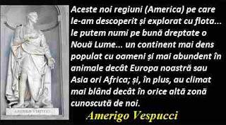 Maxima zilei: 9 martie - Amerigo Vespucci