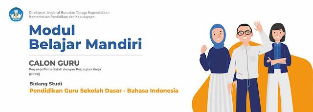 Modul Bahasa Indonesia pada jenjang PGSD
